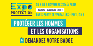 Salon EXPOPROTECTION PARIS 2016
