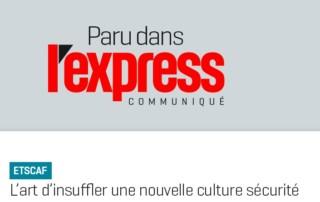 ETSCAF - Sécurité en entreprise - magazine lExpress - 20170927