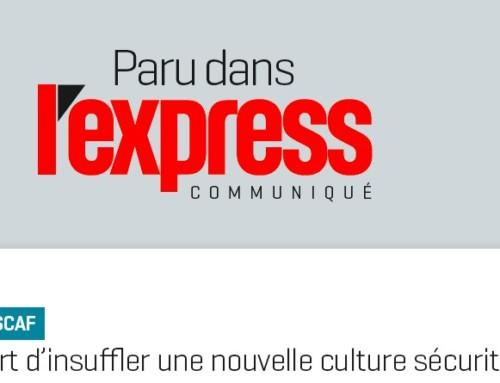 ETSCAF à l'honneur dans un article des cahiers de l'Express