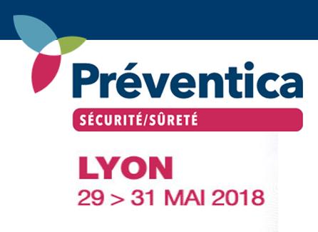 Salon Sécurité Préventica - Lyon 2018