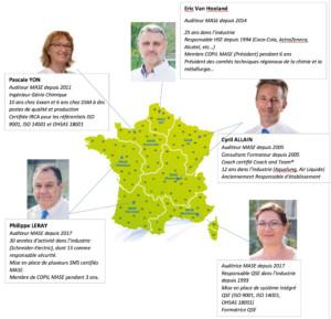 Equipe ETS MASE - France