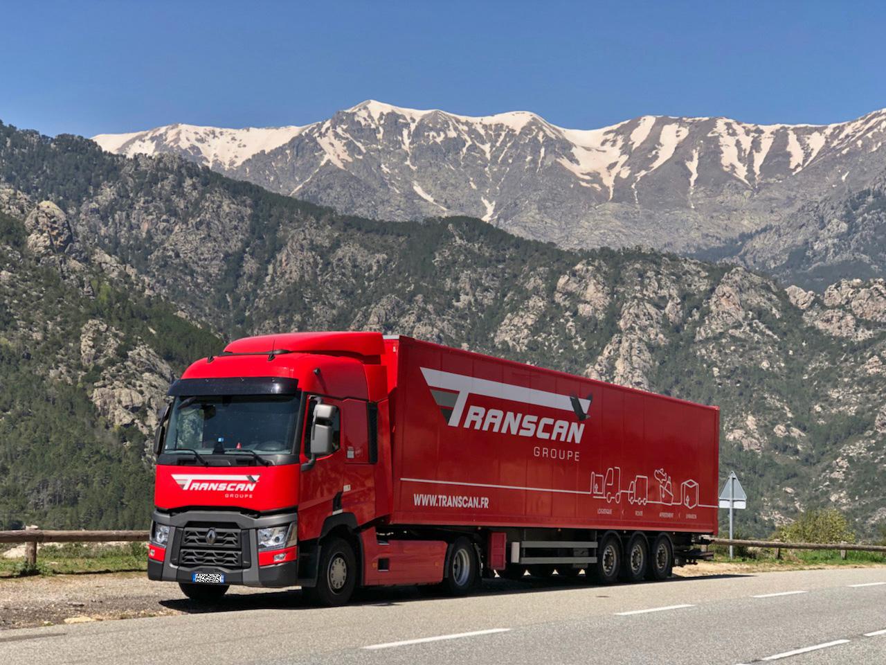 Transport de marchandises Transcan