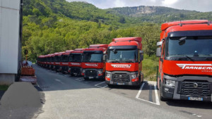 Flotte de camions Transcan